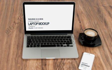 笔记本电脑手机样机图片