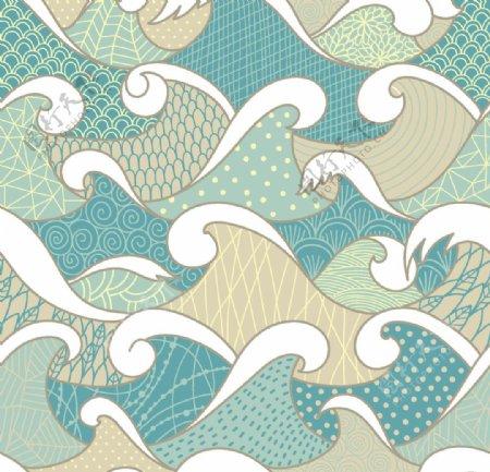 水纹波浪图片