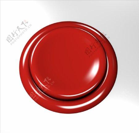 C4d按钮模型图片