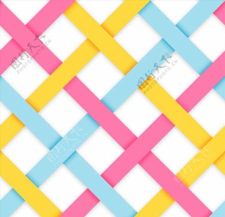 编织条纹背景图片