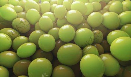 C4D模型葡萄气球提子图片