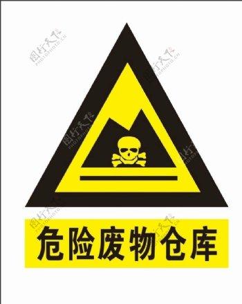 危险废物仓库图片