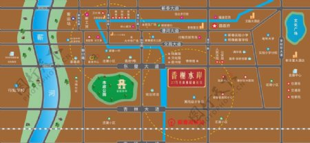 香榭国际区位图片