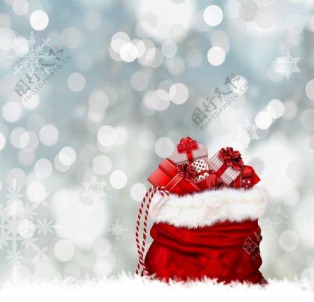 红色礼品盒图片