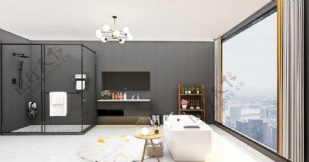 高楼卫生间图片