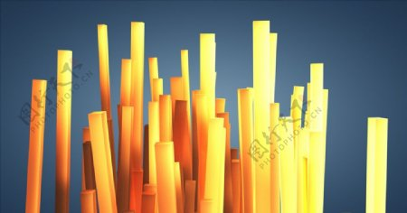 C4D模型动画法式薯条图片