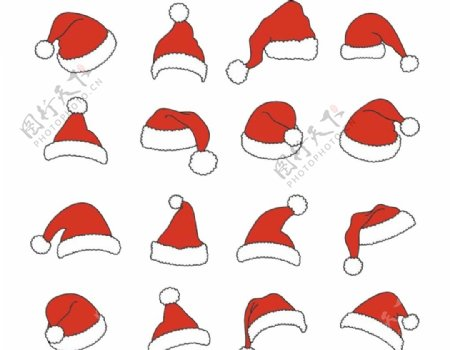 圣诞节帽子图片