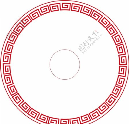古典圆形边框图片