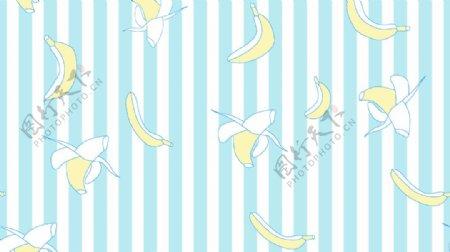 条纹香蕉图片