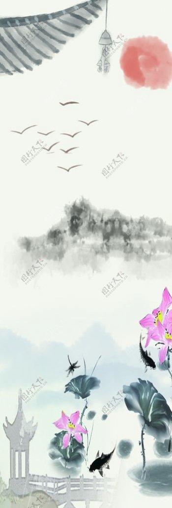 水墨画图片