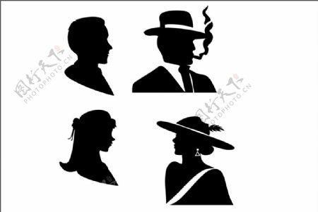 绅士女士头像图片