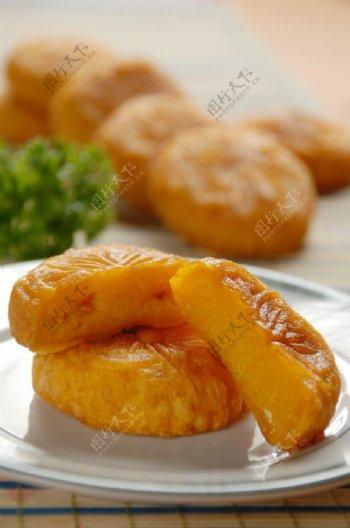 南瓜饼图片
