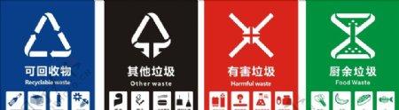 垃圾桶分类图片