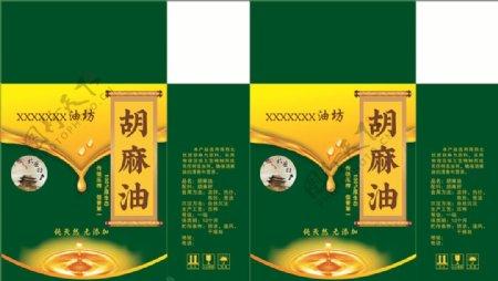 胡麻油包装粮油图片