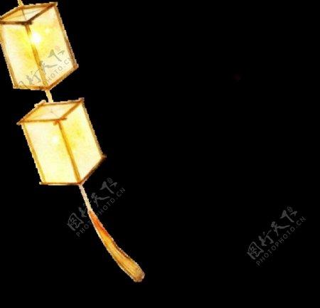 古风元素灯笼图片