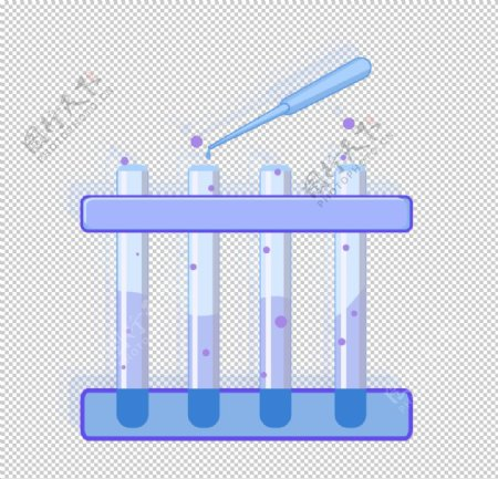 科学化学实验器材PNG图片