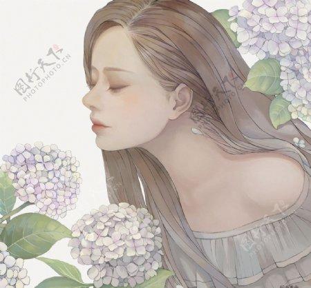 二次元动漫性感美女少女唯美妹子图片