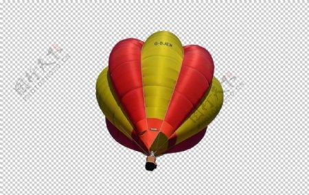 国庆节飞翔热气球图片