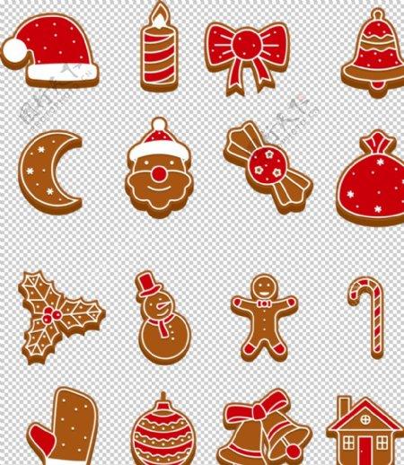 圣诞元素装饰大集合图片