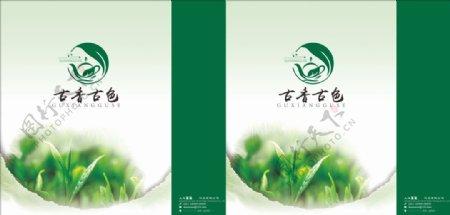 茶叶手提袋茶馆海报图片