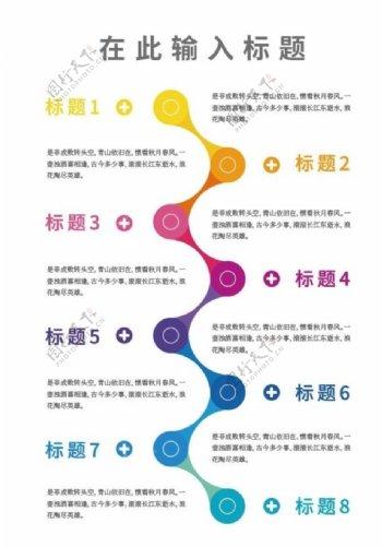 分类信息图表图片