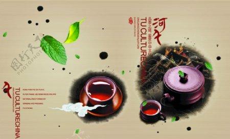 茶叶茶文化茶叶素材图片