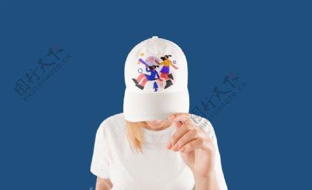 样机帽子图片