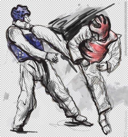 跆拳道图片