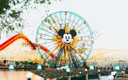 阿纳海姆迪士尼乐园背景图片