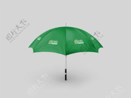 生鲜超市雨伞样机图片