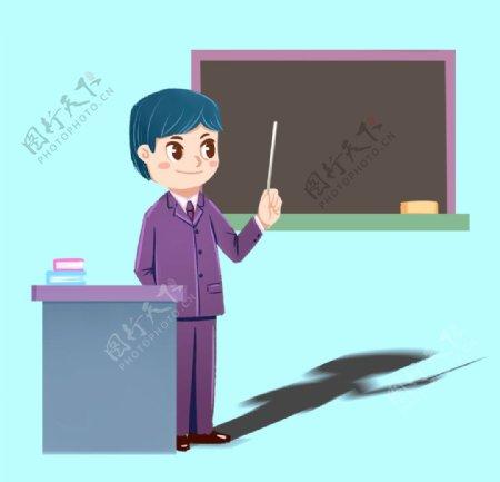 教师老师剪影图片