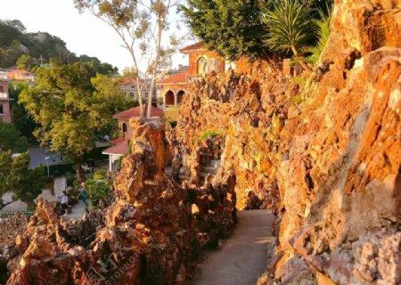 鼓浪屿菽庄花园十二洞天图片