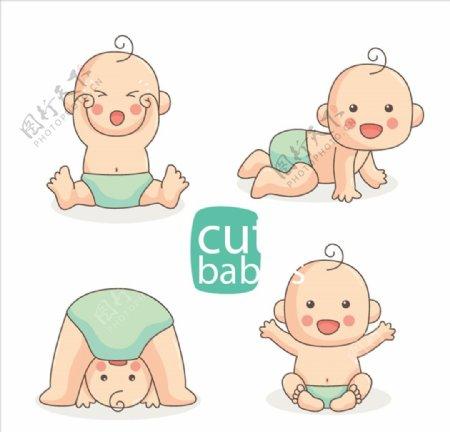 可爱婴儿图片