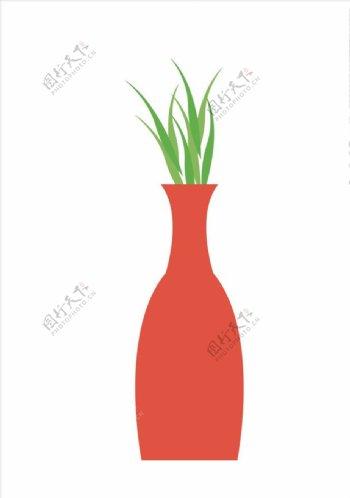 矢量花瓶图片