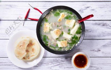 美食羊肉汤图片