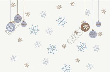 圣诞温馨装饰背景图片