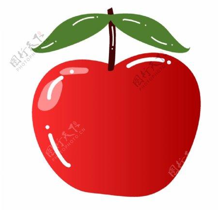 卡通手绘苹果矢量图图片
