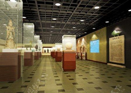 商业空间中式古朴博物馆图片